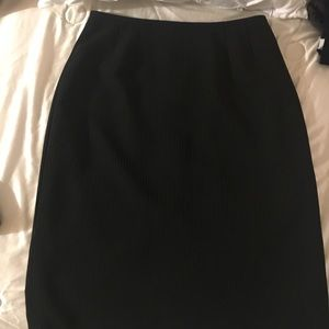 Classic Tahari Pin Striped Skirt